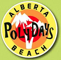 The Alberta Beach Poly Days logo